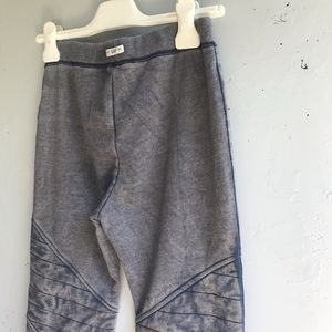 Gap Kids girls distressed purple/grey joggers